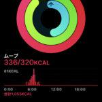 Apple Watchのアクティビティ エクササイズが反映されない。